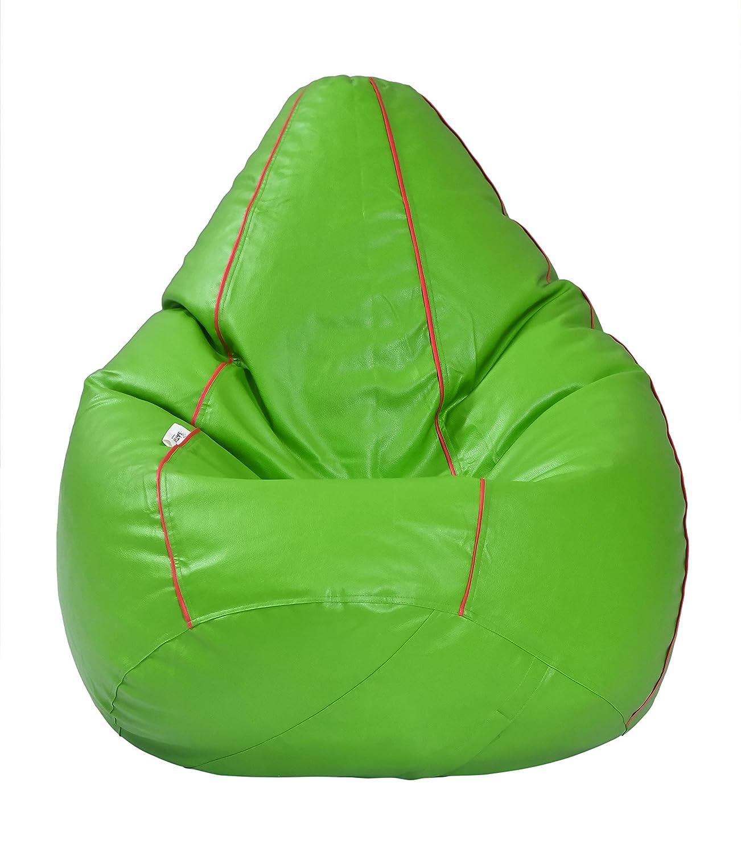 Admirable Sattva Classic Xxl Bean Bag Filled With Beans Neon Green Machost Co Dining Chair Design Ideas Machostcouk