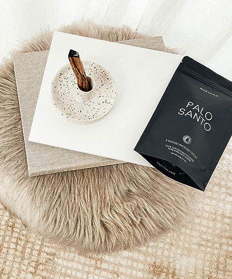 10g Berk Palo Santo R/äucherst/äbchen aus Indien Holy Smokes
