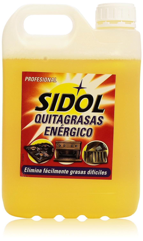 Sidol Quitagrasas Energético Profesional - 4.85 Kg: Amazon.es: Alimentación y bebidas