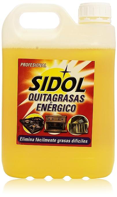 Sidol Quitagrasas Energético Profesional - 4.85 Kg: Amazon.es ...