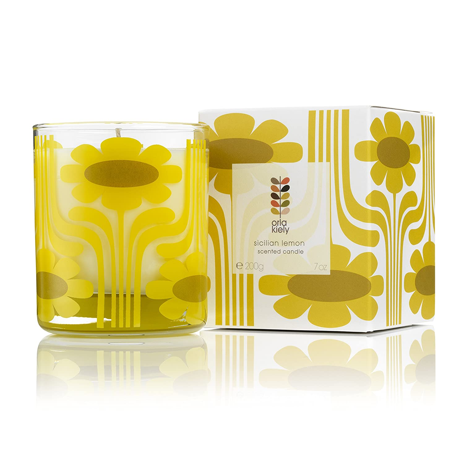 Home by Orla Kiely Sicilian Lemon Scented Candle by Orla Kiely KMI Brands OKHHM0586