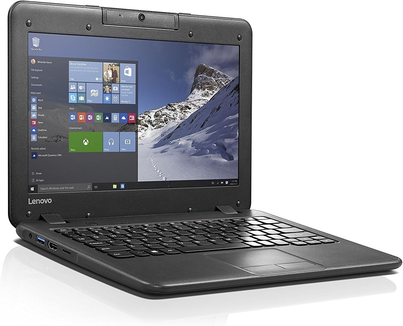 Lenovo N22 11.6-inch High Performance Laptop Notebook (New Premium Edition) (Intel Dual-Core Processor N3060 1.60GHz, 4GB RAM, 64GB eMMC SSD,Windows 10 Pro)