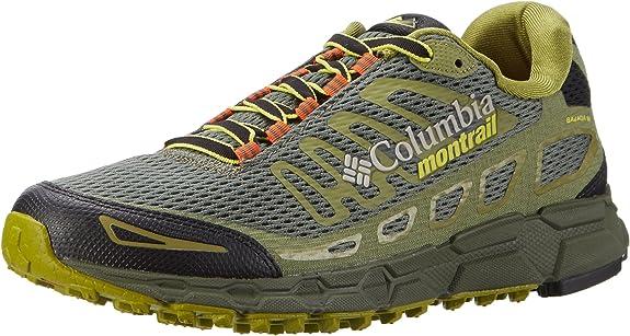 Columbia Bajada III, Zapatillas de Running para Asfalto para Hombre, Verde (Cypress/Cool Moss), 43 EU: Amazon.es: Zapatos y complementos