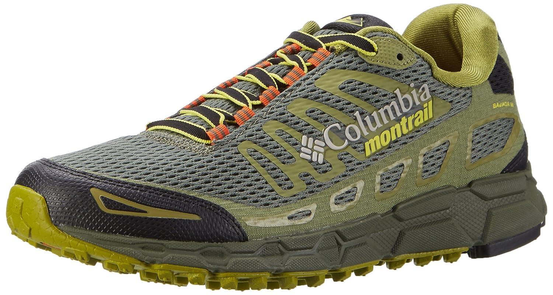Columbia Bajada III, Zapatillas de Running para Asfalto para Hombre 47 EU|Verde (Cypress/ Cool Moss)