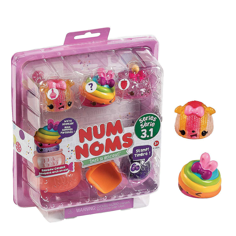 Fun Express - Num Noms Rainbow Starter Pack - Toys - Character Toys - Misc Character Toys - 1 Piece by Fun Express