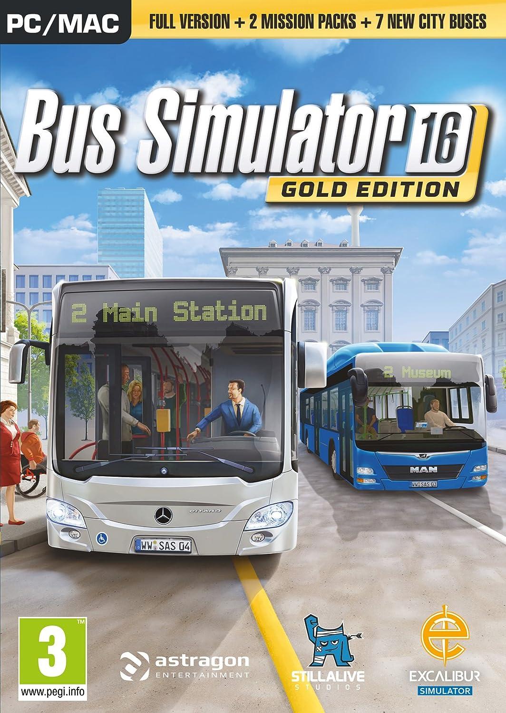 Bus Simulator 2016 Gold Edition (PC DVD) [importación inglesa]: Amazon.es: Videojuegos