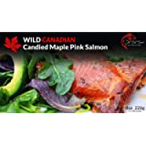Premium Wild Canadian Pacific Smoked Candied Pink Peppercorn Salmon Fillet Gift
