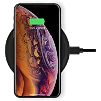 Belkin F7U082MYBLK Boost Up Wireless Charging Pad 10 W, Qi Wireless Charger for - iPhone 11, 11 Pro, 11 Pro Max, XS, XS…
