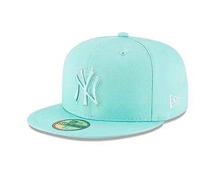 świeże style najlepszy dostawca odebrane New Era New York Yankees Tonal Pastel Kool Mint Fitted 59Fifty MLB Hat