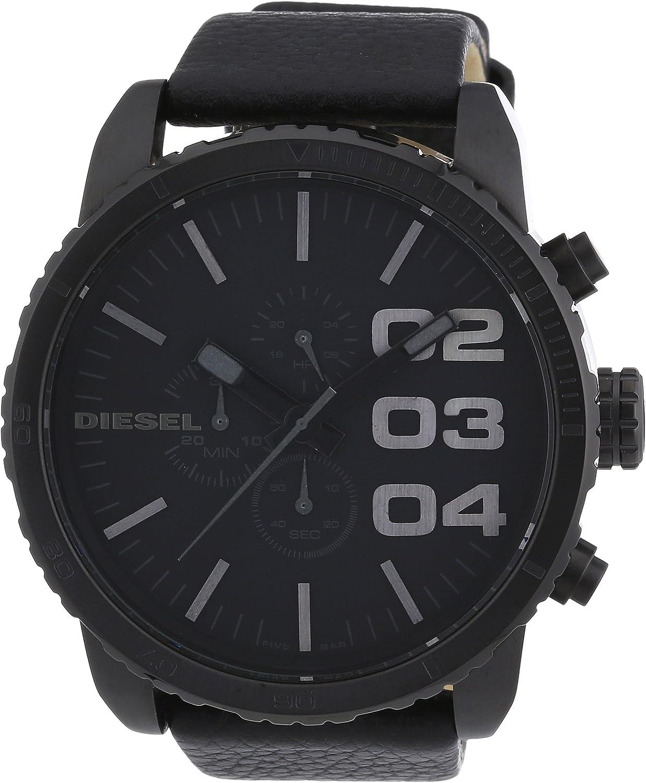 Diesel Reloj Cronógrafo para Hombre de Cuarzo con Correa en Cuero