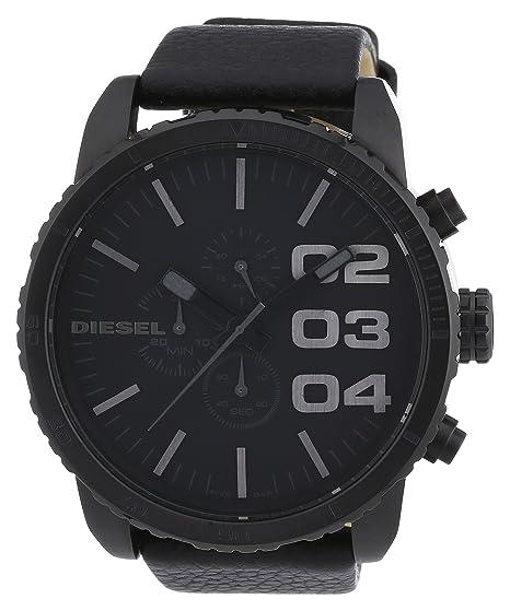 Diesel Reloj Cronógrafo para Hombre de Cuarzo con Correa en Cuero DZ4216: Diesel: Amazon.es: Relojes