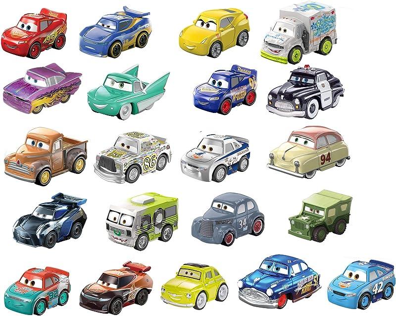金盒特价 Disney Cars Toys 迪士尼 Pixar皮克斯动画 赛车总动员 迷你合金汽车车模21件装 7折$27.99 海淘转运到手约¥226
