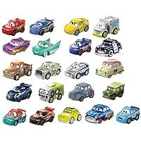 Disney/Pixar Cars Mini Racers Vehicles, 21-Pack