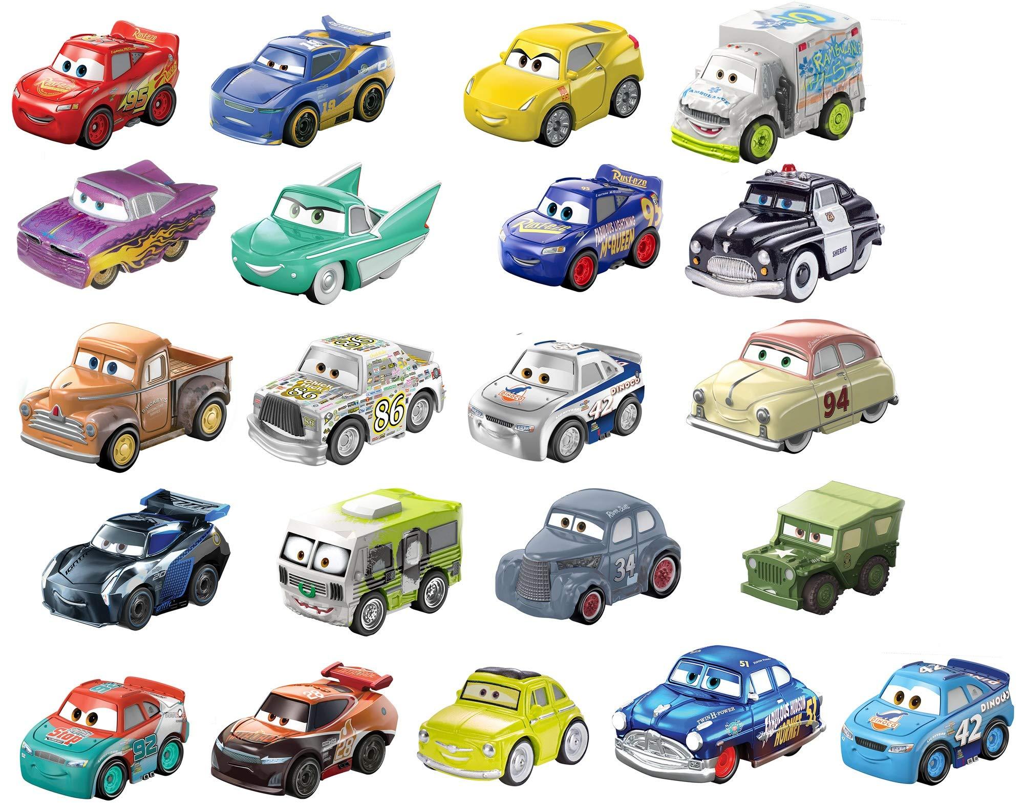 Disney Pixar Cars Mini Racers 21-Pack
