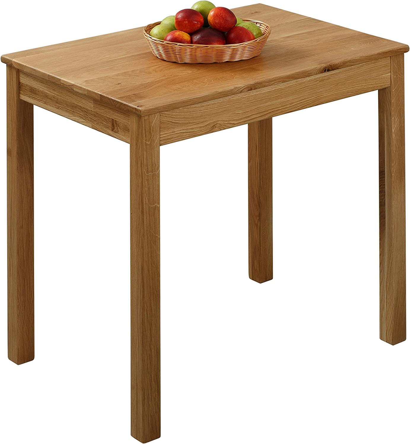 Krok Wood Dining Table Tomas Oak 75x50x75 cm