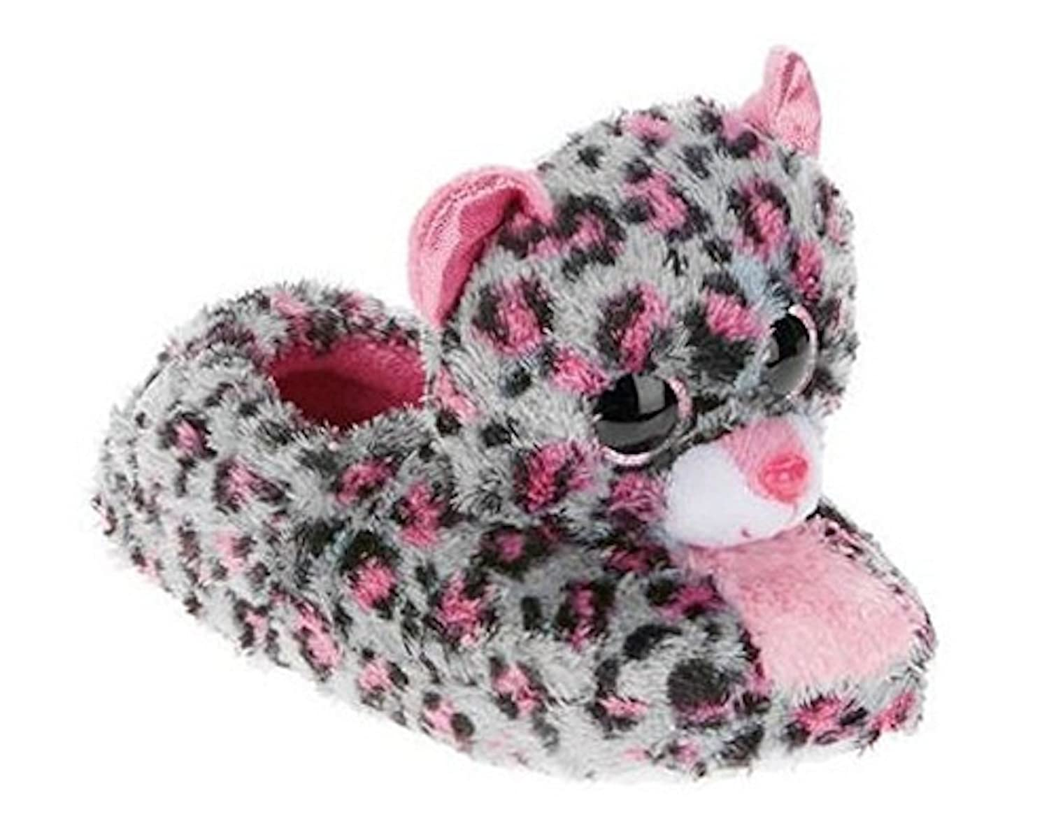 Beanie Boo Girls Slippers Faux Fur Tasha (XXL 5/6) Esquire Footwear