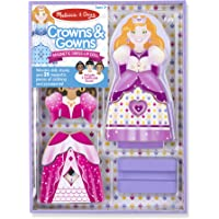 Melissa & Doug Crowns and Gowns Dress-Up Magnetic Activities