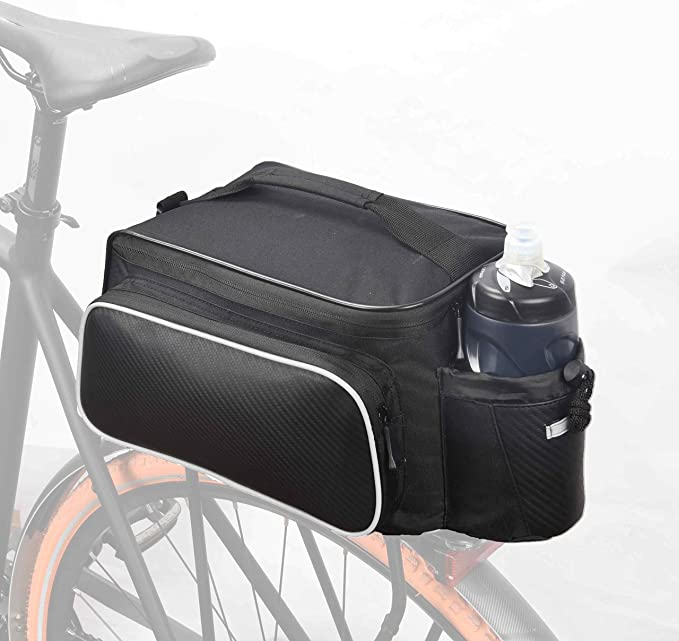 Hot Bicycle Seat Rear Bag Bike Pannier Rack Shoulder Cycling Polyester Q5G2