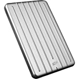 Silicon Power 2TB Rugged & Slim Portable External Hard Drive Armor A75, Shockproof USB 3.0 for PC, Mac, Xbox and PS4, Silver
