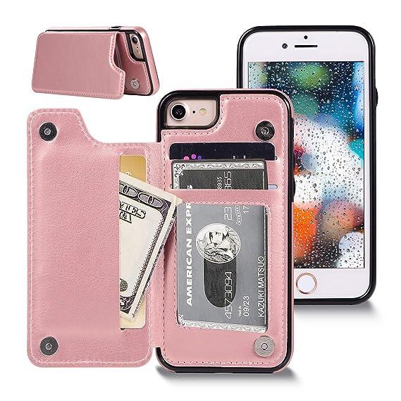 iphone 8 case pink card holder