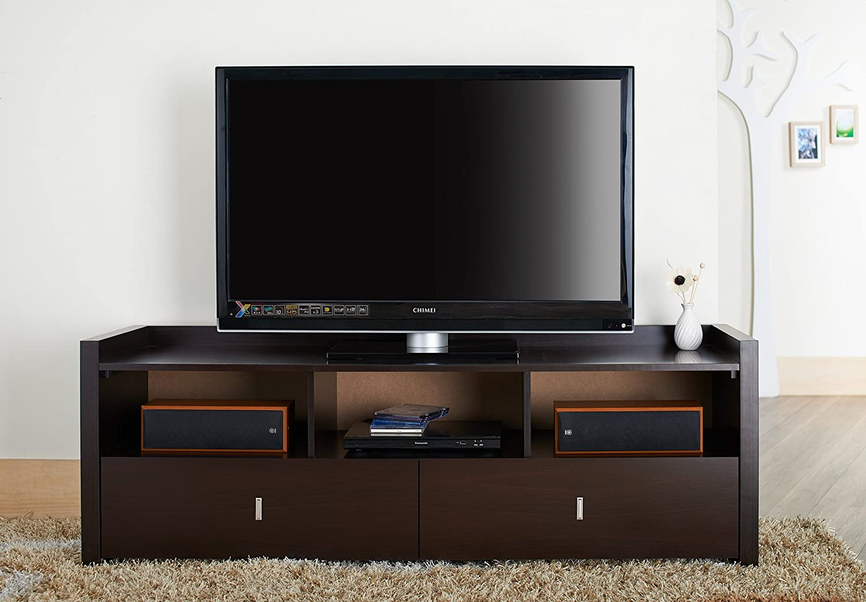 Amazon.com: IoHOMES Brooks TV Cabinet, 60 Inch, Cappuccino: Kitchen U0026 Dining