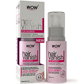Amazon Com Wow Hair Vanish For Women All Natural Hair Removal