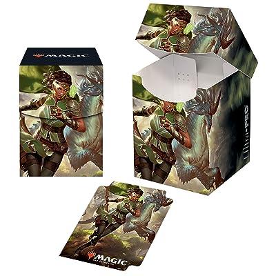 Ikoria: Lair of Behemoths - Vivien, Monster's Advocate PRO 100+ Deck Box for Magic: The Gathering: Toys & Games