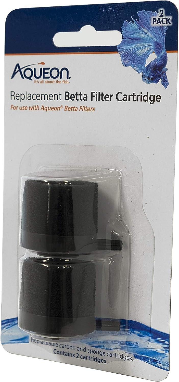 Aqueon Betta Filters Cartridges, 2PK