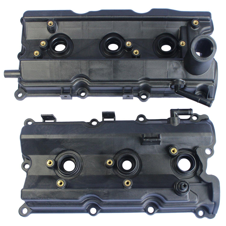JDMSPEED New Left & Right Engine Valve Covers for 2003-06 Nissan 350Z  /03-06 G35 V6 3 5L