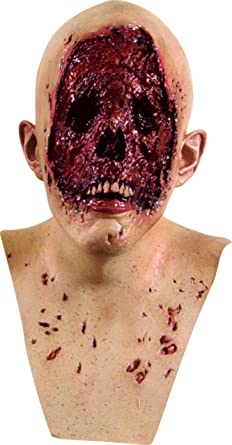 Zombie Corpse Mask No Face