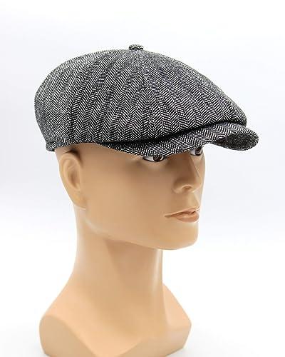 ec5a4df0 Amazon.com: Hat type Newsboy Cap or Jay Gatsby, Men's Newsboy Cap in ...