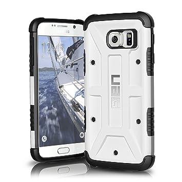 Urban Armor Gear Composite - Carcasa para Samsung Galaxy S6 con Kit de Pantalla, Color Blanco y Negro