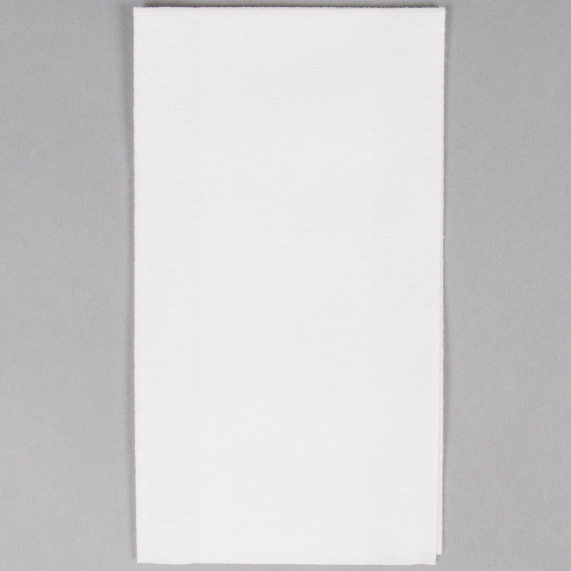 Hoffmaster 856460 Linen-Like Select 12'' x 17'' White 1/6 Fold Guest Towel in Dispenser Box - 500/Case