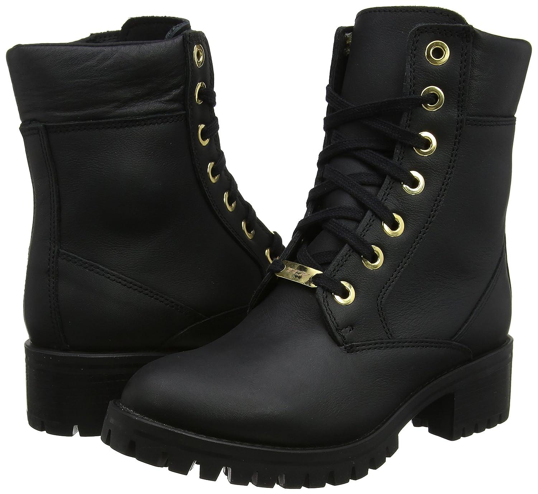 Size 38 TCX Lady Smoke Motorcycle Boots Black