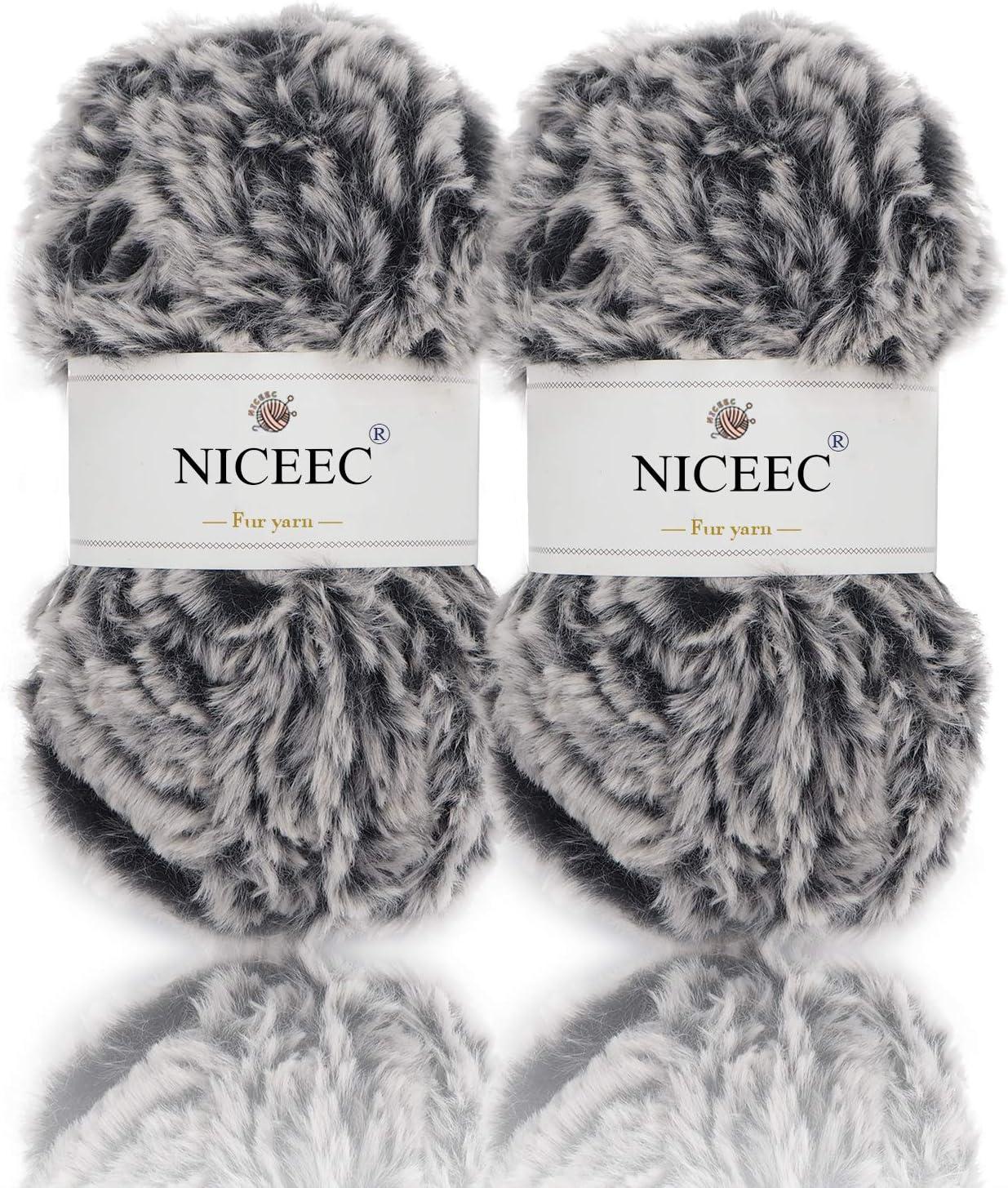 New Super Soft Eyelash Yarn Feather Yarn Knitted Blanket Throw Rug 130x160cm