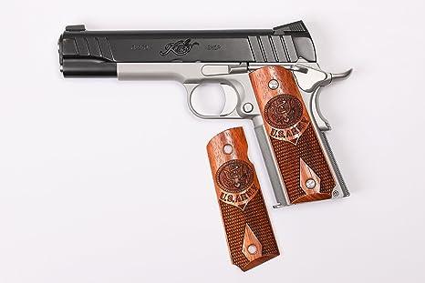 FZ Custom Grips 1911 US Army Hand Grip Fits  Colt-Kimber-S&W-Springfield-Taurus-Caspian-Ruger