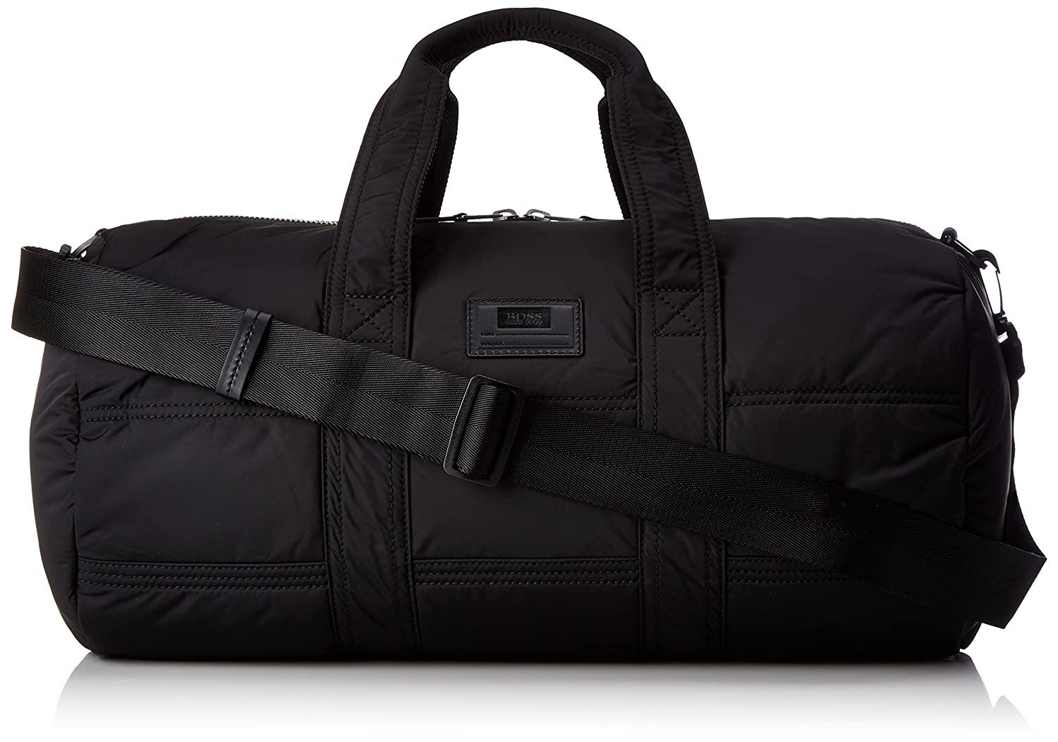 BOSS Orange Bomber_holdall 10199208 01, Men's Satchel, Schwarz (Black), 27x27x50 cm (B x H T) Men's Satchel 50370257