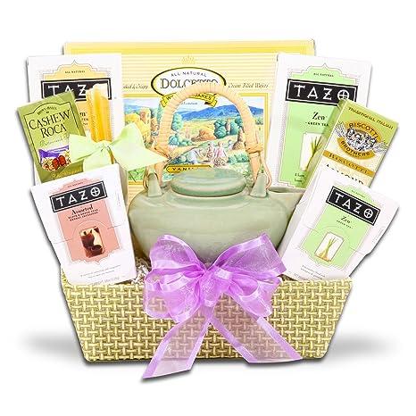 Amazon.com: Soothing Zen Tea Gift Set w/ Tazo Tea and Walker's Cookies: Everything Else