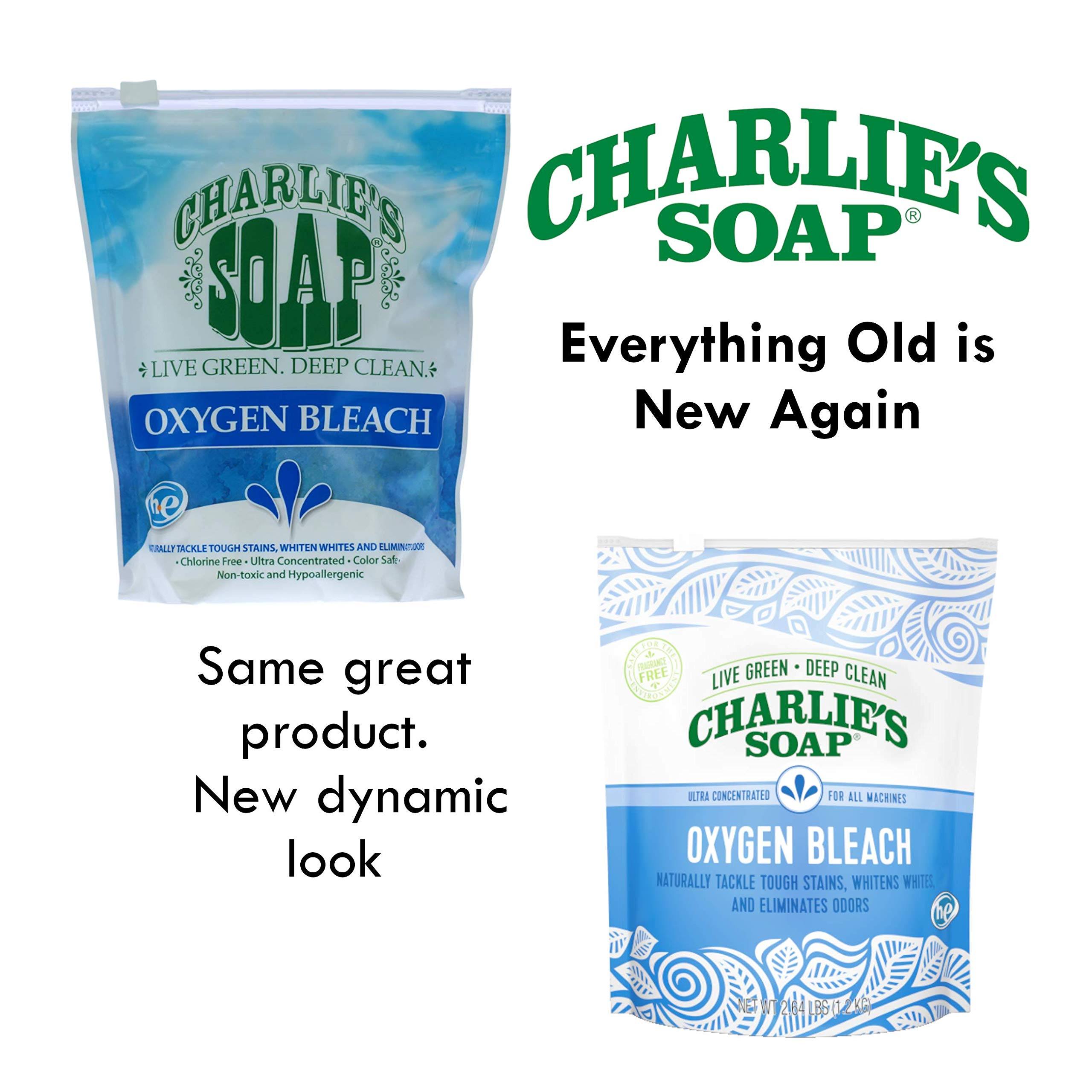 Charlie's Soap - Non-Chlorine Oxygen Bleach - 2.64 lb (6-Pack) by Charlie's Soap (Image #4)