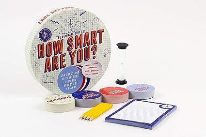 Amazon Com Professor Puzzle How Smart Are You Quiz 200 Unique Quiz Questions Including Facts Riddles Picture Puzzles Science Maths Quiz Questions Toys Games