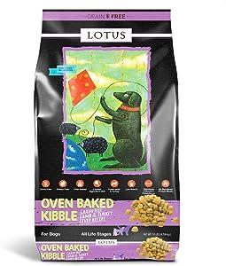 Lotus Lamb and Turkey Liver Dog Food 10lbs