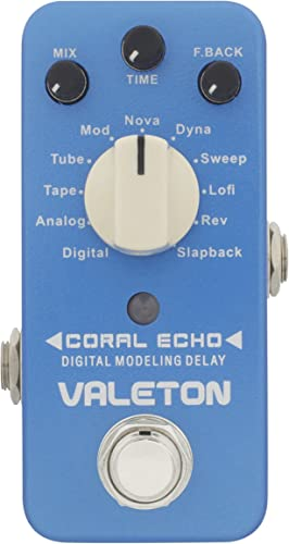 Valeton Guitar Delay Effects Pedal (CDL-3)