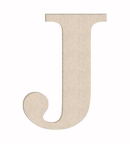 24 times unfinished wood letter monogram j sizes