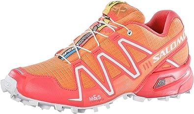 Salomon Speedcross - Zapatillas de Running para Mujer (3 W), Color Naranja, Talla 42 EU: Amazon.es: Zapatos y complementos