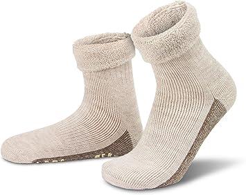 Calcetines de alpaca con alpaca y de lana de oveja y antideslizante diseño de ABS, naturaleza: Amazon.es: Deportes y aire libre