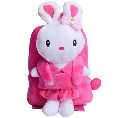 Amazon.com | Kids Bunny Purse Rabbit Crossbody Bag Girls Coin Wallet Mini Shoulder Satchel Handbags ... | Kids Backpacks