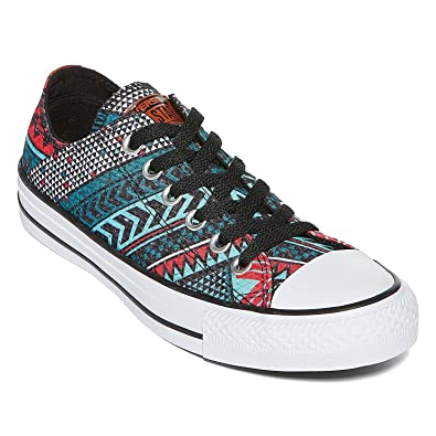 cba4231aa2d2 Converse Chuck Taylor Women s Ox All Star Festival Woven Low Fashion Shoes  (4 men