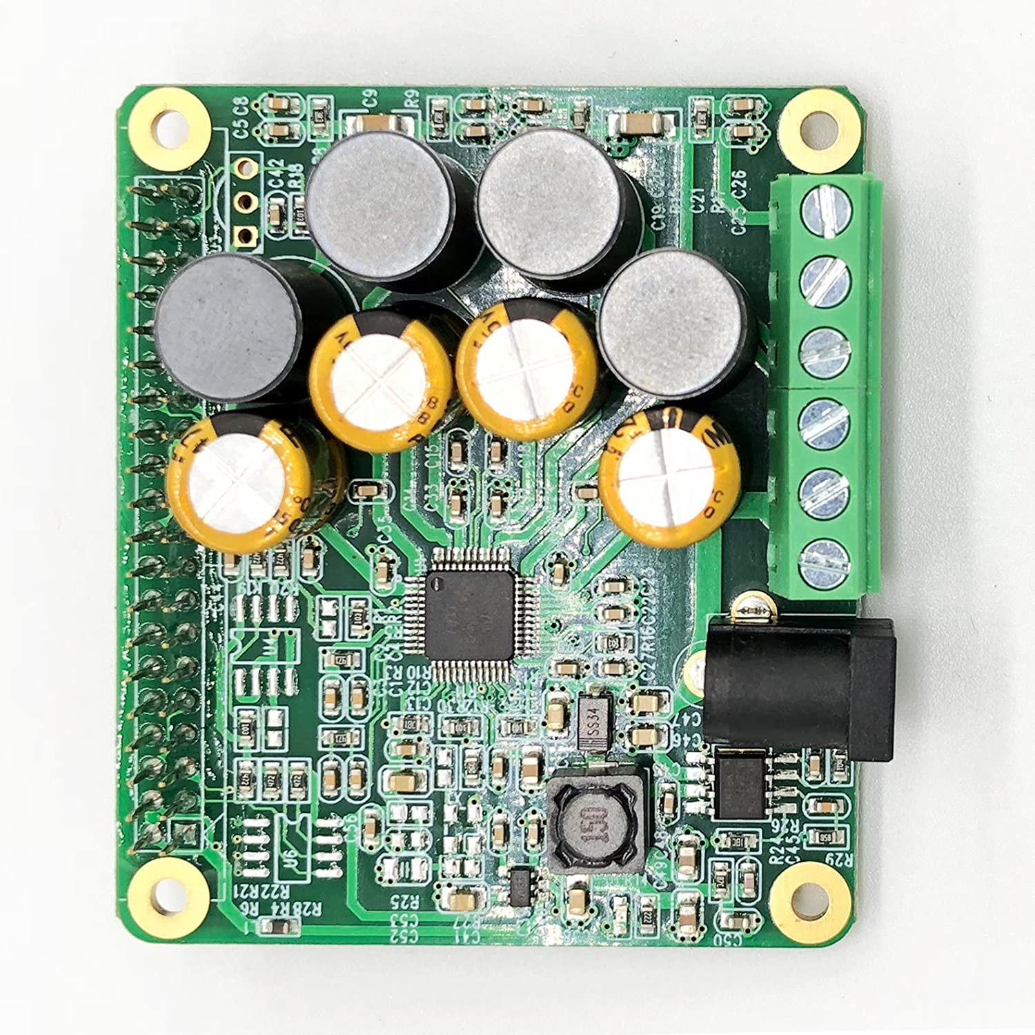 Inno Maker Raspberry Pi Hifi Amp Hat 25w Class D Power Audio Amplifier Circuit Very Simple Tas5713 Expansion Board Module For 3 B Zero Nichicon