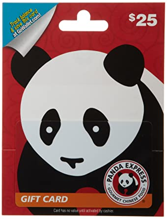 Amazon.com: Panda Express Gift Card $25: Gift Cards