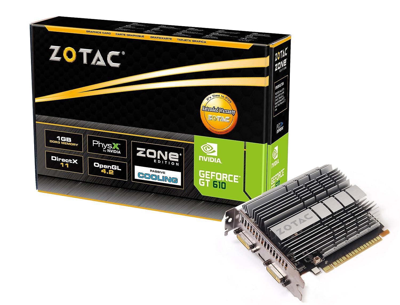 Zotac GeForce GT 610 Zone Edition - Tarjeta gráfica de 1 GB ...